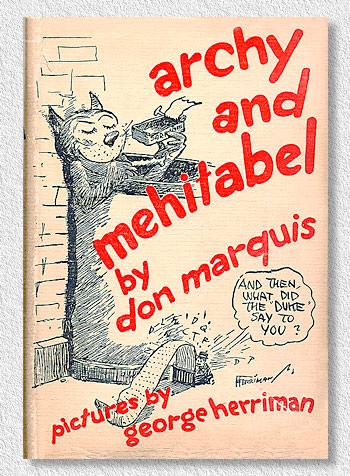 Archy & Mehitabel 1933