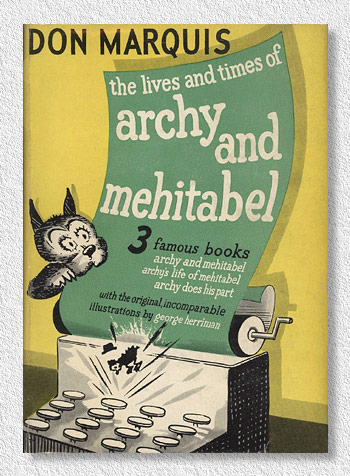 Image result for The lives and times of Archy and Mehitabel by Don Marquis